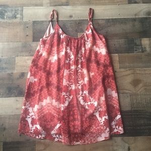 Show Me Your Mumu Happy Henna Trapeze Mini Dress S